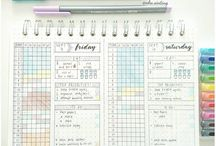 Bullet Journal - Inspirational ideas