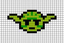 star wars em pixel