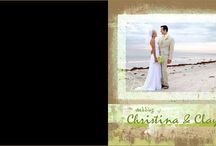 Doubletree Beach Resort - Coffee Table Book / A custom-designed Coffee Table Book from a Wedding at the DoubleTree Beach Resort, in Redington Beach, FL. Images by Mj WIlson and Rene Martinez.