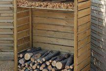 wiata drewniana