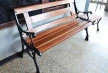 Kursi Taman / Kursi Taman dari cast Iron (besi cor) berdesain apik dan kualitas premium