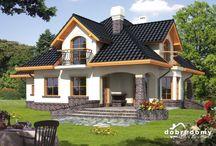 Projekty domów z poddaszem <3 | Houses with attic / Urocze projekty domów z poddaszem w których się zakochasz <3 <3 <3
