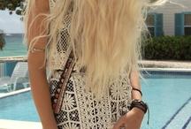 Boho hair / Värit