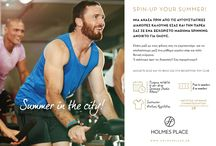Summer in the City / Make the Summer in the City enjoyable. Workout with your friend in the best place in town!!