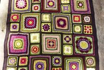 Crochet - Afghan, Blanket, Pillow