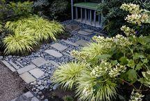 Garden structure/paths