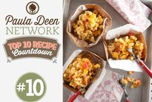 Paula Deen Network Top 10 Recipes / To celebrate the launch of the Paula Deen Network, I'm counting down my all-time top 10 favorite recipes to share with y'all! / by Paula Deen