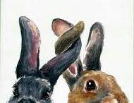 Bunnies, hares