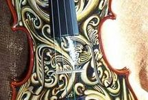 Violins hand crafted / Unique Violins  / by William Nealie