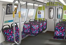 Cıty Bus & Train Seat Design