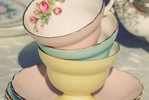 Tablewares / tea sets, plates, cake stands, cutlery, etc.