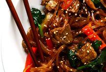 Korean Stir Fry Noodles