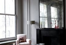 antiqued mirror / or some call it mercury glass, patinated mirror etc. we call it the perfect surface.