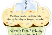 Birthday Party - Boy's first birthday / Boys birthday party themes
