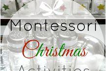 Vánoce - toddler activity