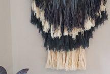 Weave wall hangings