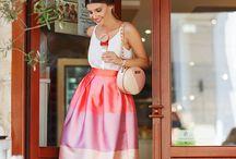 The tulle skirt