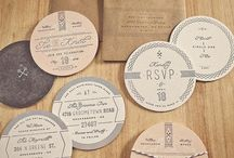 WEDDING INVITATION / by Florence Bazin