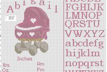 Birth records free cross stitch patterns / Birth records free cross stitch patterns, free download.