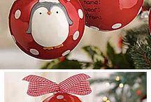 Christmas decorations / Netradiční i tradiční vánoční i sváteční dekorace