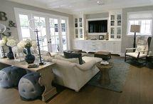Hampton living room