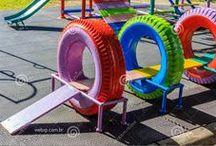 Brinquedos de pneus