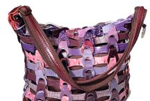 Braided leather bags - Style Aida / Braided leather bags from Octopus Denmark