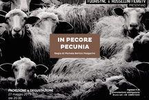 CIAK diVINI. Evento all'insegna del Cinema, del Cibo, del Vino e dell'Olio / CIAK diVINI é un evento che mette insieme le arti, e in particolare il cinema, con l'enogastronomia. La convivialità é uno dei modi per approfondire saperi e conoscenze in un ambiente rilassato e accogliente. Proietteremo un documentario ambientato in Puglia e intitolato IN PECORE PECUNIA di Michele Bertini Malgarini, un giovane regista romano, il quale ci racconta le sorti di un mestiere antico. A Bologna il 27 maggio 2015 presso Osteria del Cirmolo, via S. Felice 86/A