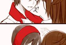 ATOT - Fem Eren + Male Mikasa
