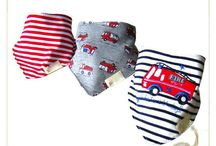 Baby/Toddler Bandana BIBS / Cute and Stylish Bandana BIBs for baby/toddler boys and girls!