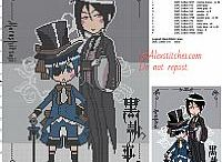 Anime and manga free cross stitch patterns / Anime and manga free cross stitch patterns