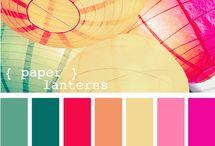 Paleta de Cores / CMYK, RBG e Pantone
