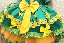 vestidos de festa junina