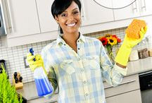 Cleaning Tips / Great ways to save both time and money on keeping your house clean.