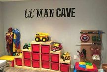 Super Hero bedroom theme