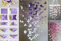 lampadaire papillon