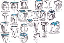 sketching jewellery