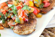 CHICKEN Tonight - Poultry Recipes / by Wendy Dykstra-Fishlock
