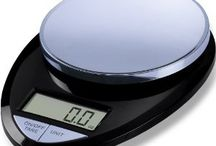 Precision Pro Digital Kitchen Scale / The EatSmart Precision Pro Digital Kitchen Scale is an economically priced multifunction home scale, perfect for everyday tasks from weighing food or ingredients to calculating postage. Along with our Precision Pro, you will also receive a FREE Calorie Factors Book making it easy to achieve goals such as portion control and calorie counting. / by EatSmart Products