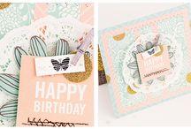 Karten Inspiration / Inspiration about card making