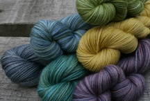 Spinning and dyeing yarn