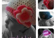 Πλεκτά Σκουφάκια - Crochet hat