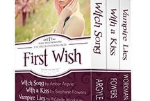 First Wish Boxed Set / Three paranormal books for one low price.  Vampire Lies Witch Song With a Kiss / by RaShelle Workman