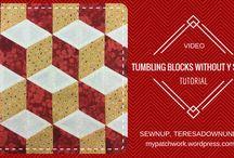 Tumbling Blocks With No Y Seam