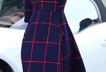 Идеи для шитья. Платья миди