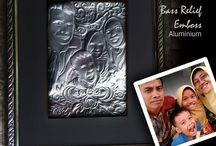 Mini Emboss Art /  All cans, transformed into ornaments  Address: Memostudio = Semo - Arjosari - PacitanEast Java Indonesia   +6282244645709