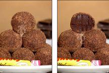 Truffes marrons glaces pâtes de fruit etc...
