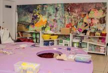 Taller para niños / En el Museo realizamos actividades con escuelas y familias donde los niños experimentan y juegan con el arte. Te mostramos nuestro taller.