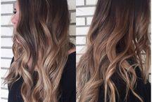 dark to light hair