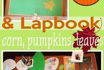 lapbooks, projects